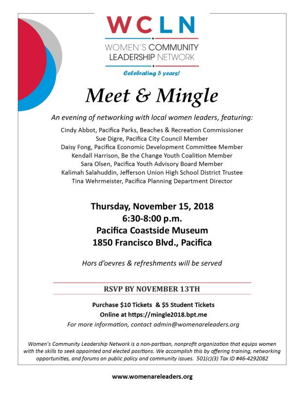 Meet&Mingle 2018 flyer